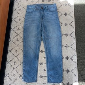 LIKE NEW DL1961 Bardot High-Rise Cropped Jeans